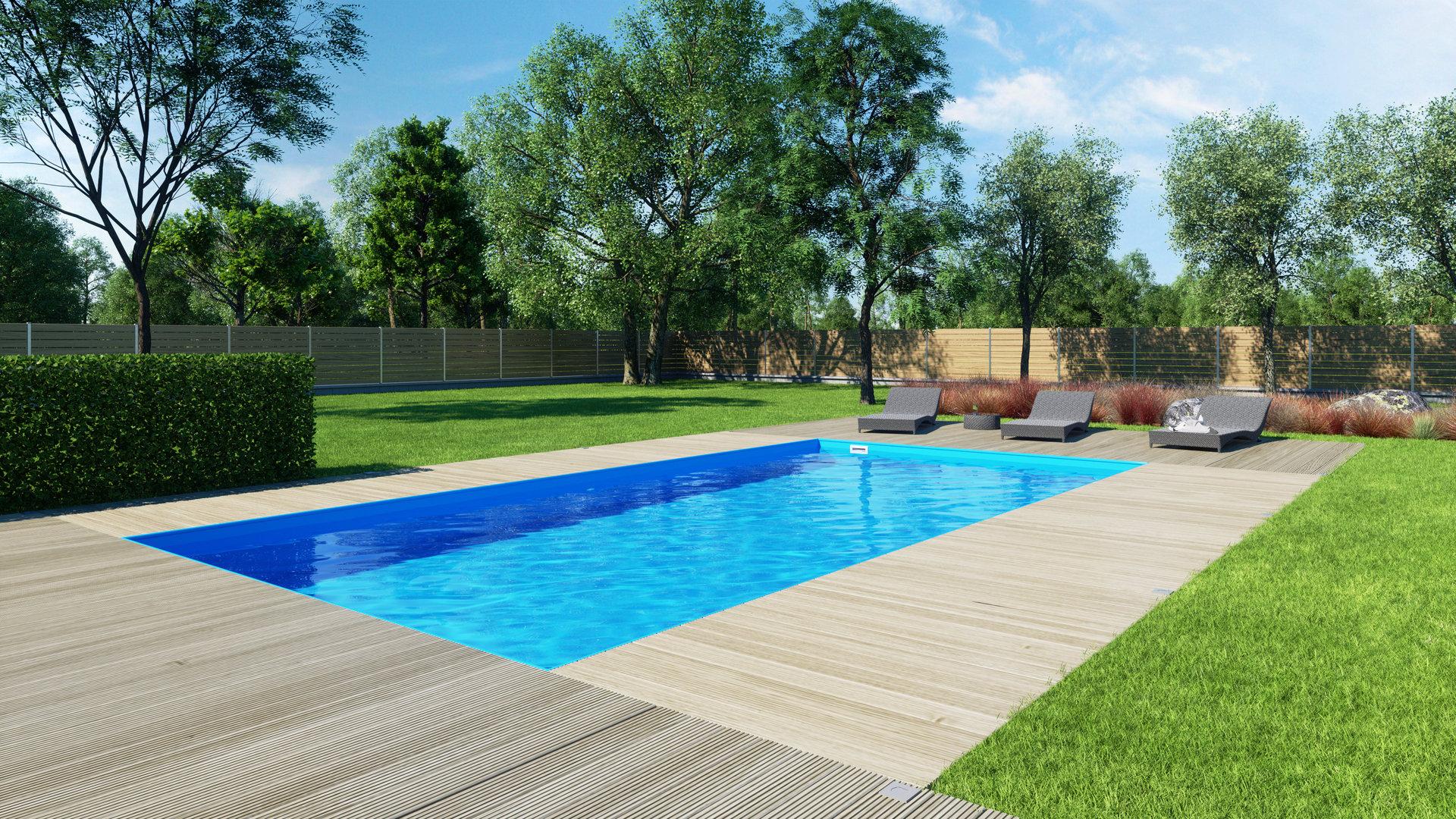 Albistone schwimmbecken skimmer g2 qbig 3x6x1 50 m aruspool for Pool komplettangebot